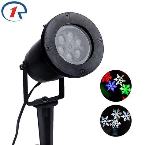 zjright waterproof moving snow laser projector ls