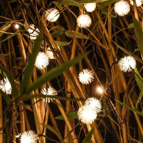 next deal shop solar lights solar powered warm white dandelion led string lights
