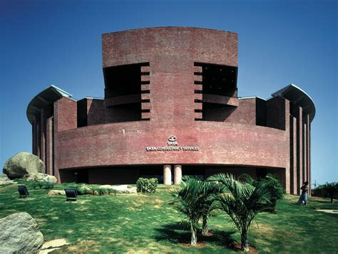 mario botta designed tcs buildings are modern icons of contextual architecture in india