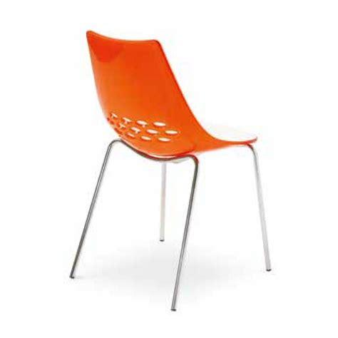 Chaise Jam by Calligaris Jam Chaise Bicolore Au Design Original Depot
