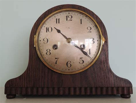 clock made of clocks h a c mantel clock made in wurttemberg collectors weekly