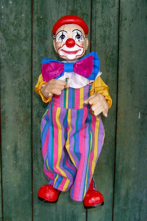 Handmade Puppets For Sale - marionettes puppets for sale original handmade clown