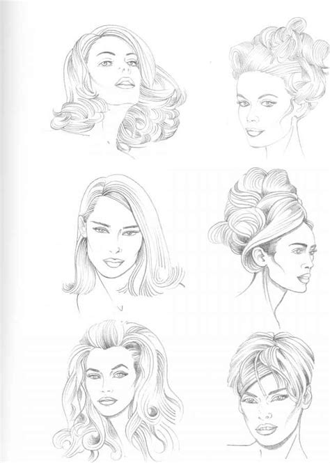 types of pencil hair styles types of hairstyle figure drawing martel fashion