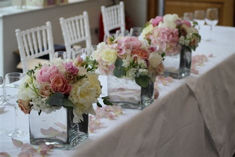 top table flower arrangements for weddings images