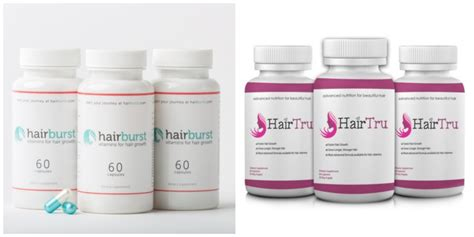 hairburst for men hairburst vs hairtru pictureperfect