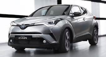 Toyota C Now Badged Toyota C Hr Crossover To Make Debut At La Auto
