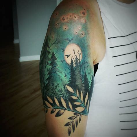 nature tattoo 55 amazing nature tattoos