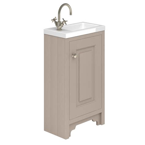 Cloakroom Basin With Vanity Unit by Grab A Vanity Unit For Your Privy