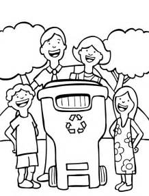 recycling coloring pages recycle coloring page for the adventures of a plastic