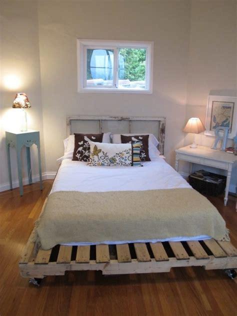 Bett Einfach Selber Bauen by Europaletten Bett Ganz Einfach Selber Bauen Ausf 252 Hrliche