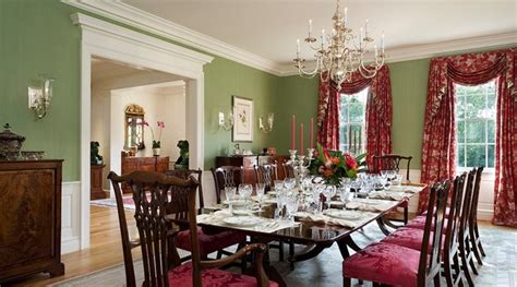 mansion traditional dining room boston by design