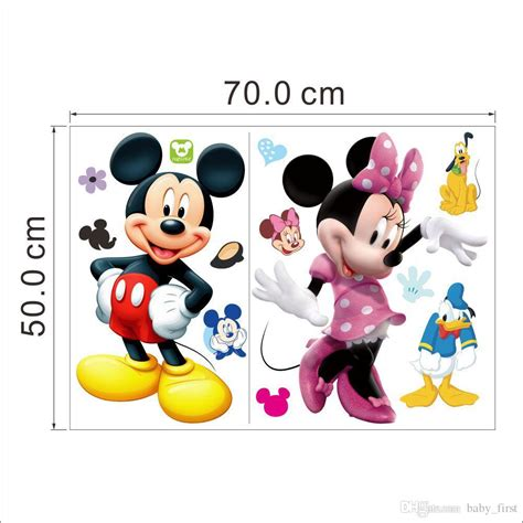 mickey and minnie wall stickers mickey mouse minnie wall stickers mural wall