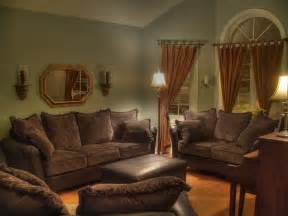Brown Livingroom by Living Room Colors With Light Brown Furniture