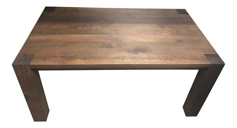 crate and barrel alcometti dining table chairish crate barrel big sur dining table chairish