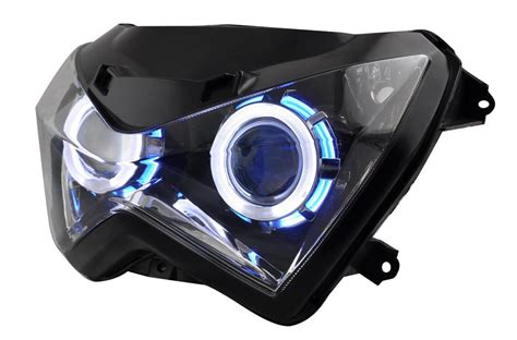 Projector Z250 Motorcycle Hid Projector Headlight For Kawasaki Z250 Z800