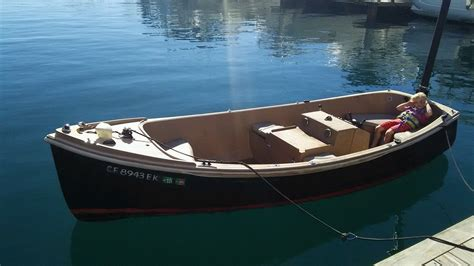 electric boats for sale california electric boat duffy electracraft dingy launch 1985 for