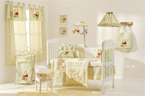 Baby Room Winniee Pooh Nursery Ideas All In One Disney Classic Winnie The Pooh Nursery Decor Bedding