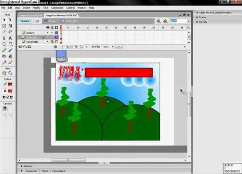 tutorial flash juego de plataformas tutorial como hacer un juego de plataformas en flash 8 4