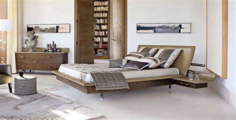 contemporary beds add drama to the bedrooms idesignarch