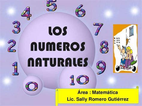 imagenes con numeros naturales los numeros naturales