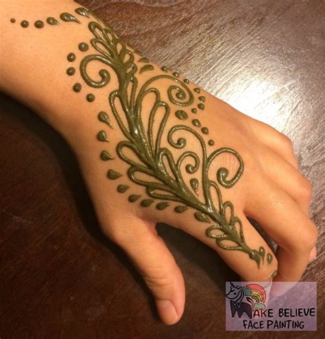 henna tattoos mehndi make believe face painting
