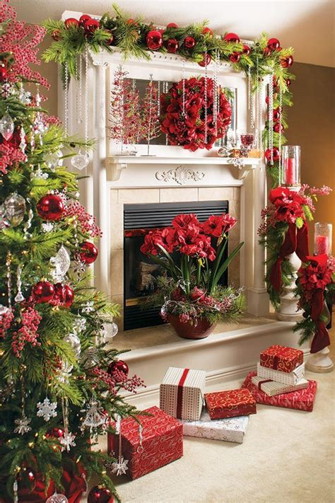 merry christmas diy decoration ideas christmas fireplace christmas mantels elegant