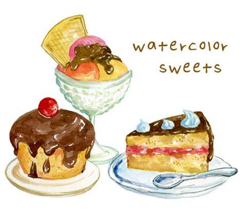clipart dolci impostare digital clipart dolce gelato torte muffin