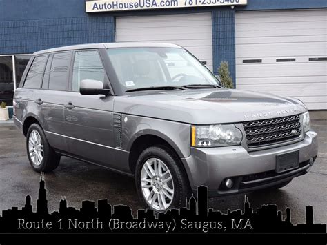 range rover hse 2011 used 2011 land rover range rover hse at auto house usa saugus