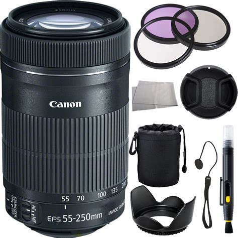 Lensa Tamron 55 250mm For Canon canon ef s 55 250mm f 4 5 6 is stm lens accessory bundle