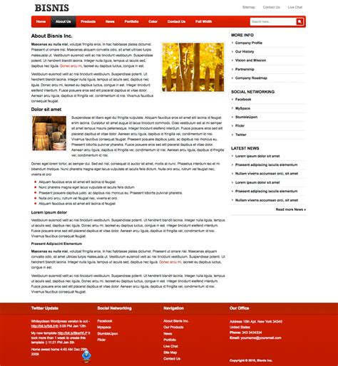 Haberciyiz Company Profile Templates E Commerce About Us Template
