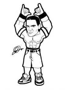 wwe coloring pages print az coloring pages