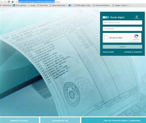 recibo de haberes digital ministerio de gobierno ya est 225 disponible para consulta el recibo digital