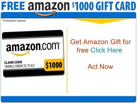 Free Amazon Gift Cards - how to get amazon gift cards free