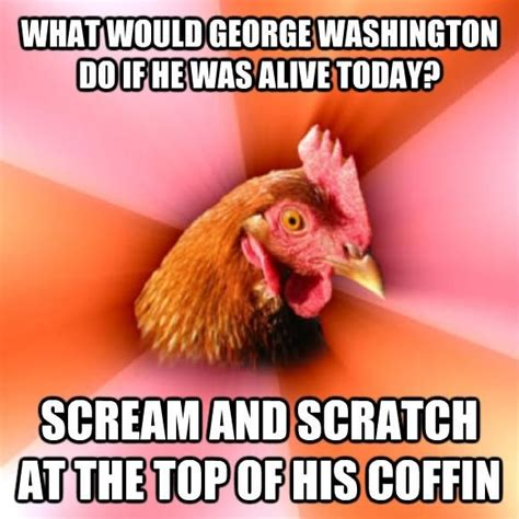 Chicken Meme Jokes - anti joke chicken sally