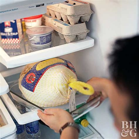 thawing turkey in sink how to defrost a turkey