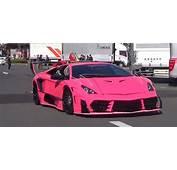 Lamborghini Morocielago By Boom Craft Is Pink Japanse