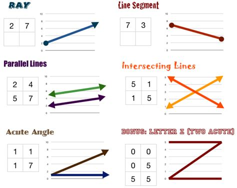 figure lines point and line segments math line segments and angles