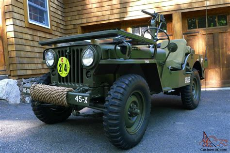m38 jeep 1951 willys m38 military jeep fully restored