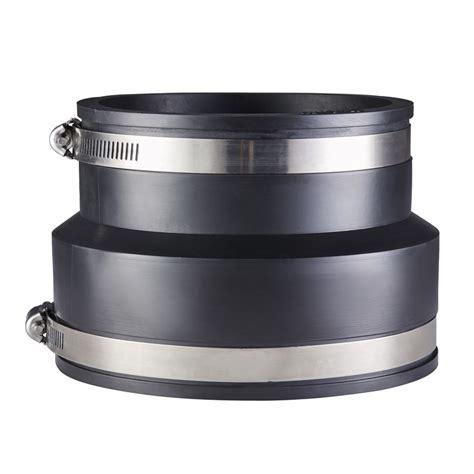 Jenco Plumbing - deks industries 100mm pvc to 80 90 pvc rubber jenco joiner