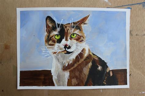 cat painting tips step by step tips for painting animals in acrylic