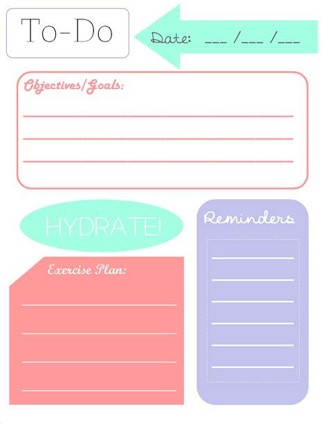 printable planner pinterest to do list printable printables pinterest planners