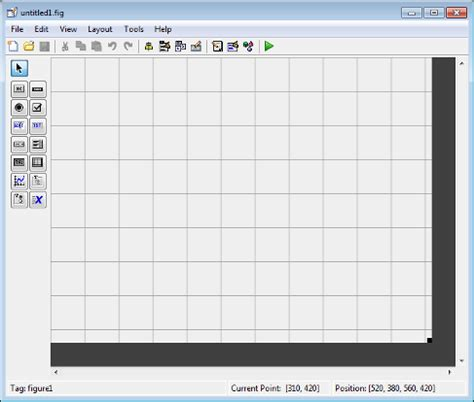 layout editor manual create a simple app using guide matlab simulink