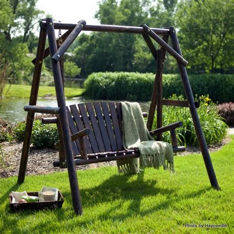 Wooden Patio Swing Kit Wood Porch Swings Wooden Porch Swings