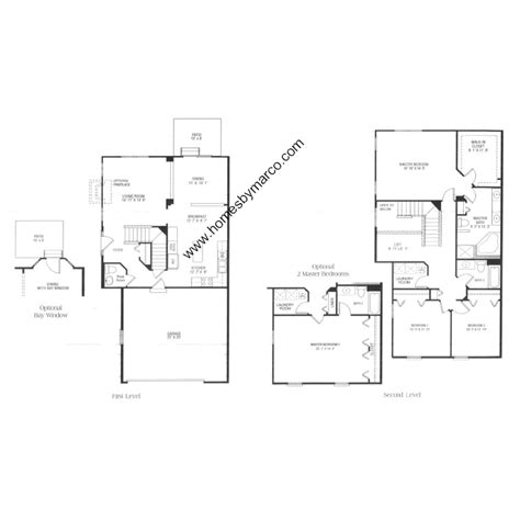 columbia floor plans columbia model in the townhomes of princeton subdivision
