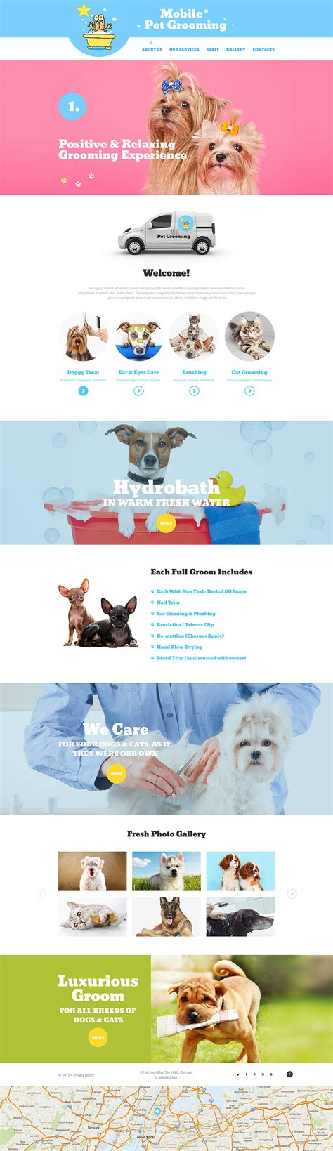 Mo Pets Digital Pets For Your Mobile by Mobile Pet Grooming 56074 By Zemez Website Templates