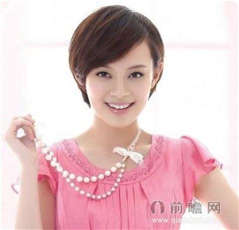 hong kong actress short hair picture 孙俪刘诗诗唐嫣高圆圆爱短发 学女星减龄发型 前瞻时尚 前瞻网