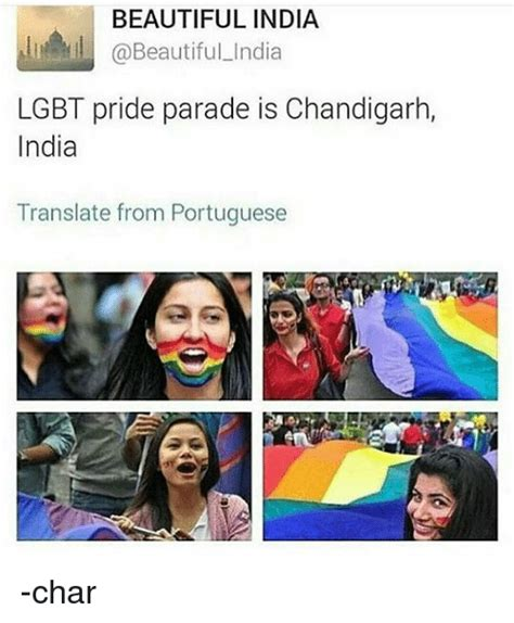 Gay Parade Meme - beautiful india lgbt pride parade is chandigarh india