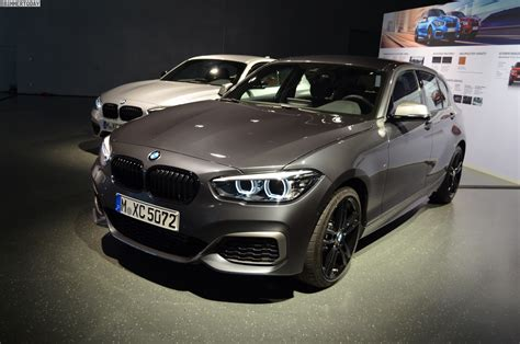 Bmw 1er 2017 Mineralgrau Metallic by Bmw 1er Facelift 2017 M140i Shadow Mit Neuem Cockpit