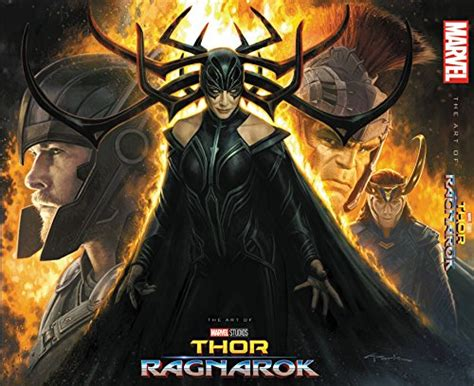 marvel anuncia el libro de arte de thor ragnarok