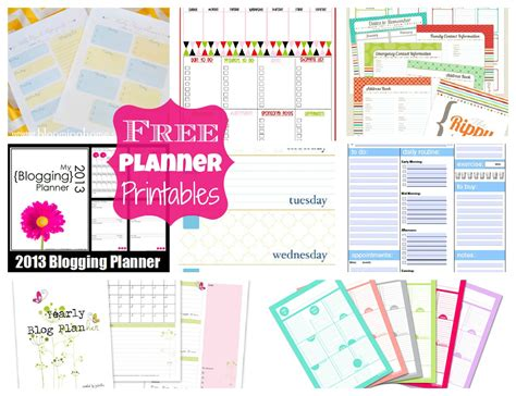 free printable household planner pages free planner printables happy go lucky